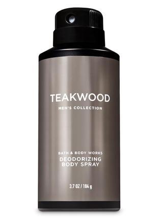Дезодорант teakwood bath and body works