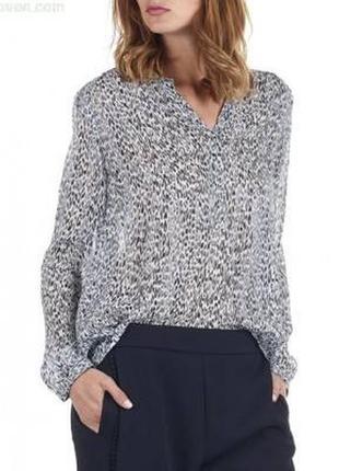 Блуза французского бренда премиум класса, zapa paris, принт леопард