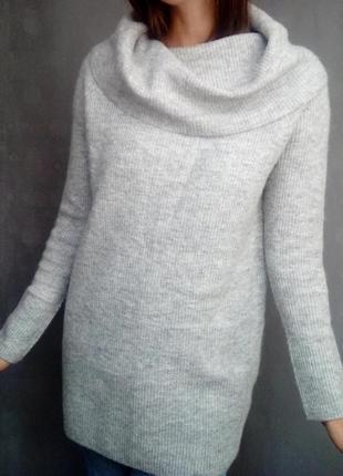 Джемпер пуловер свитер альпака/шерсть