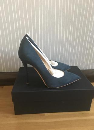 Замшевые туфли giuseppe zanotti