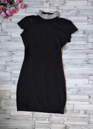 Платье женское mexton с открытой спиной черное