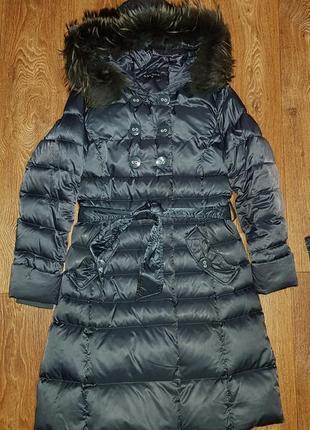 Женское зимнее пальто savage. шапка+шарф в подарок!