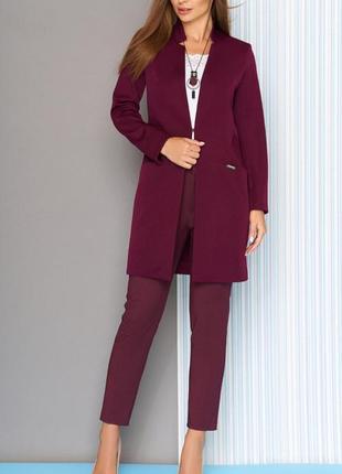 Стильный длинный пиджак