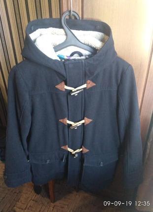 Модное пальто- дефлкот