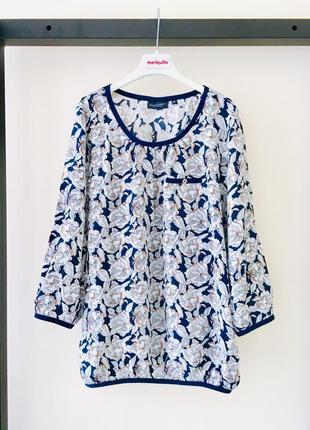 Organic блузка в цветы broadway рубашка цветы