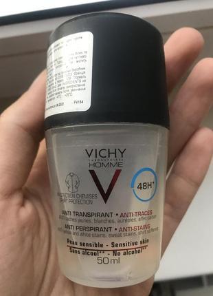 Шариковый дезодорант vichy homme