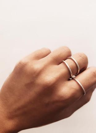 """Кольцо """"нежность"""" серебряное кольцо. ручная работа 925 проба"""