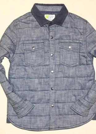 Теплая рубашка, 4-5лет
