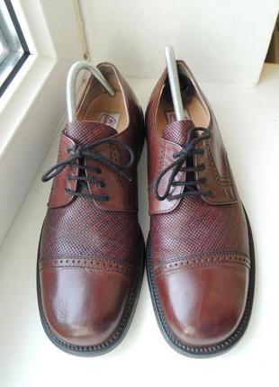 Кожаные туфли gallus р.42
