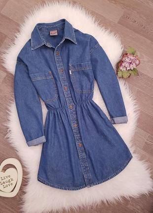 💕  трендовое джинсовое платье мини