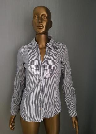 Приталенная блузка zara