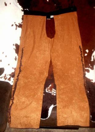 Брюки штаны для ковбоя или шерифа ростом 164 см