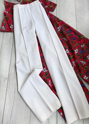 Классические брюки с широкими штанинами , штани костюмні