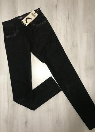 Чёрные мужские  брюки cardellino jeans 051 (28)1 фото