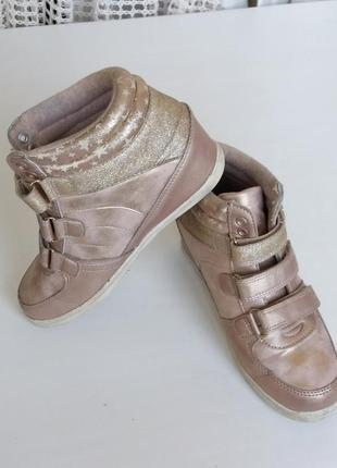 Кеды на платформе демисезонные кроссовки на танкетке сникерсы ботинки сапожки