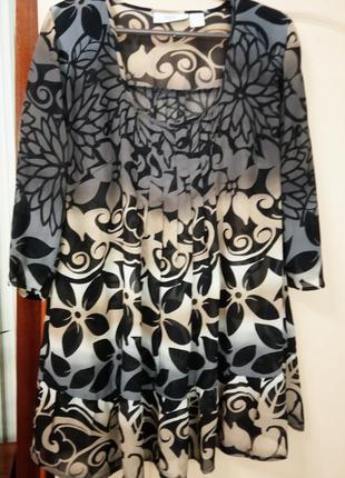 Легкая блуза-туника