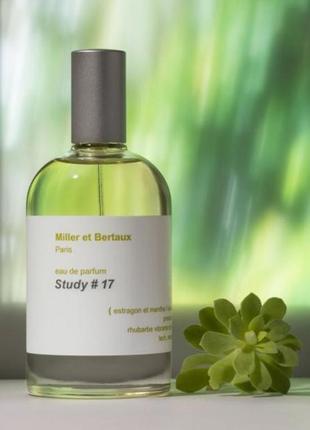 Нишевый аромат, парфюмированная вода miller & bertaux #17
