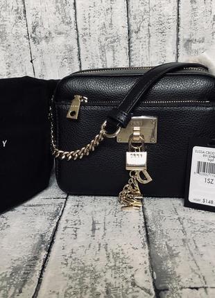 Кожаная сумка кросбоди dkny2 фото