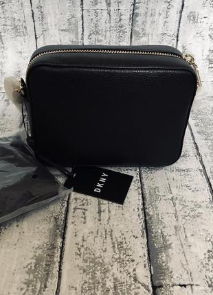Кожаная сумка кросбоди dkny3 фото