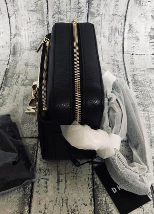 Кожаная сумка кросбоди dkny5 фото