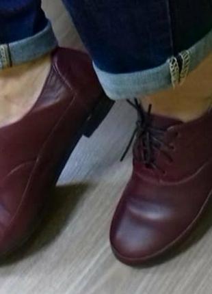 Туфли с шнурками, размер 38