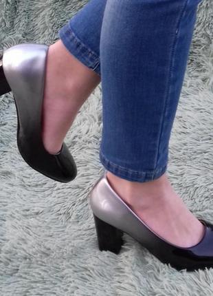 Туфли омбрэ, размер 35
