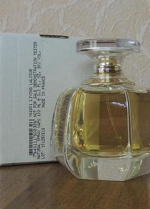 Lalique living тестер парфюмированной воды 100 мл оригинал