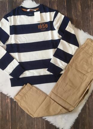 Комплект свитшот и штаны h&m на 11-12 лет