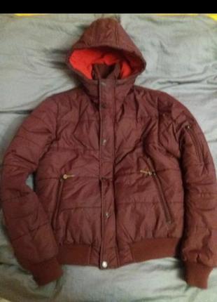 Куртка зимняя пуховик подростковый lee cooper p.158-173