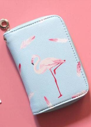 Хит! новый модный мини короткий кошелек клатч на молнии розовый фламинго
