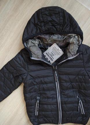 Универсальная демисизонная весна-осень курточка с капюшоном