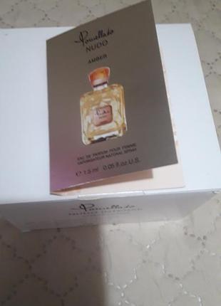 Нишевая парфюмерия pomellato nudo amber
