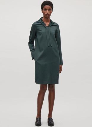 Платье cos, размер m, 100% шерсть
