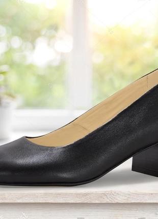 """Женские туфли """"four"""" черные"""