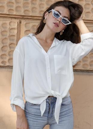 Базовая белая рубашка - тренд сезона