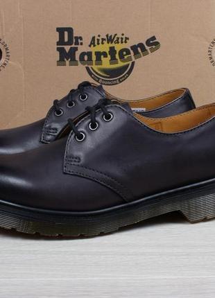 Кожаные туфли dr. martens 1461 оригинал, размер 36 (charcoal)