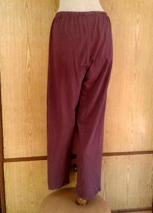 Домашние пижамные хлопковые брюки ,3xl.