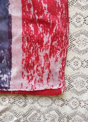 Шарф с британским флагом avon