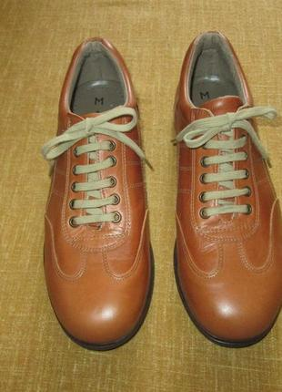 Кожаные кроссовки туфли спортивные maydo испания