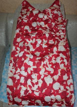 Стильное платье хлопок, 20 размер от alexon