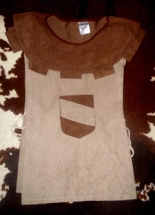 Накидка для костюма рыцаря на рост 104/116 см
