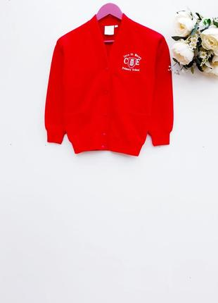 Теплый кардиган яркий свитер кардиган на кнопках