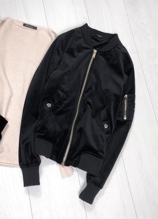 Стильный бомбер куртка деми