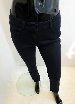 Джинсы черные классические прямые2 фото