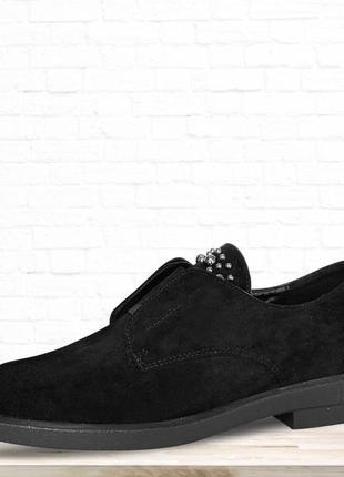 Женские туфли rubbers. черные.