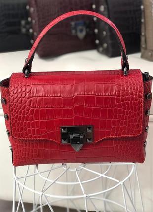 Модные и красивые кожаные сумочки