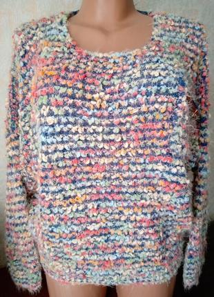Стильный свитерок травка