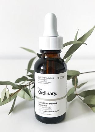 100% plant-derived squalane - сквалановое масло 100% натуральности
