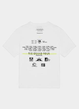 Супер стильная футболка в стиле оверсайз bershka / новая коллекция