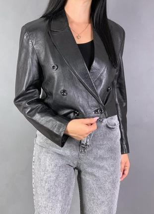 Куртка косуха натуральная кожа.